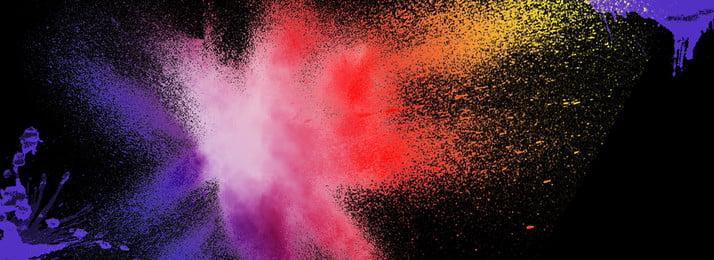 những sắc tố màu nguyên chất nền giật gân inkjet inkjet lạ mắt cô biết không, Banner Nền, Bắn Tung Toé, Màu Ảnh nền