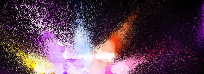 pure color pigment inkjet splash cool background, Color, Gradient, Pigment Background image