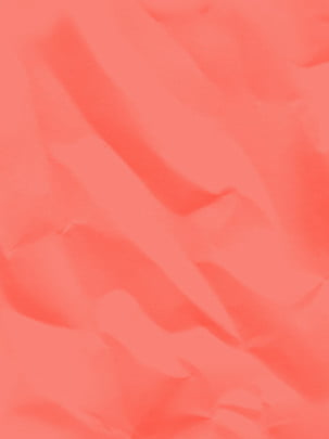 Pure Coral Red Pleated Paper Background, Coral Red, Paper, Color Paper, Background image
