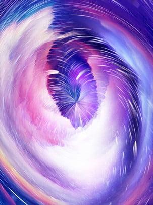 pure dreamy 3d purple starry vortex background , 3d Background, Starry Background, Vortex Background Background image