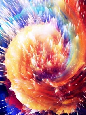 pure dreamy atmosphere orange 3d swirl background , Orange Background, Vortex Background, 3d Background Background image