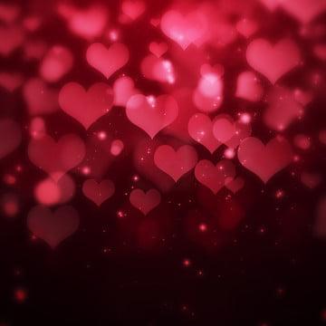 fundo de gradiente coração puro fantasia dos namorados , Fundo Gradiente De Amor, Fundo Atmosférico, Plano De Fundo Dia Dos Namorados Imagem de fundo