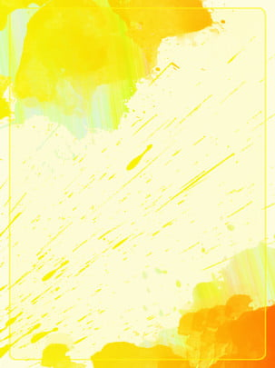 pure gradient yellow pigment inkjet splash cool advertising background , Color, Gradient, Pigment Background image
