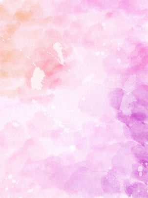 pure pink gradient layered watercolor background , Hierarchical Watercolor, Pink Gradient, Gradient Background Background image