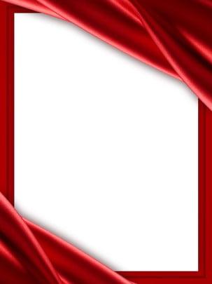 शुद्ध लाल उत्सव रेशम सीमा पृष्ठभूमि , रेशम, अनाज, पृष्ठभूमि पृष्ठभूमि छवि