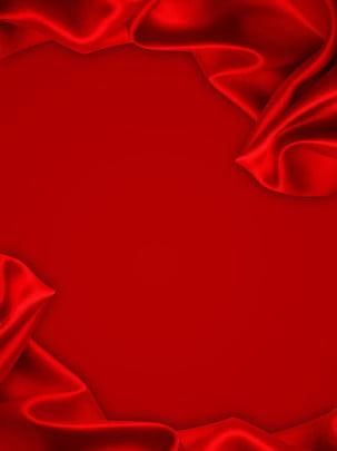 純粋な赤い絹の布の背景 , シルク, テクスチャ, バックグラウンド 背景画像