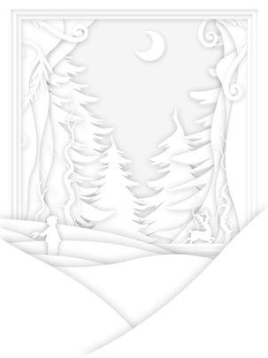 순수한 흰색 및 종이는 스테레오 배경을 잘라냅니다 , 화이트, 종이 절단, 광고 배경 배경 이미지