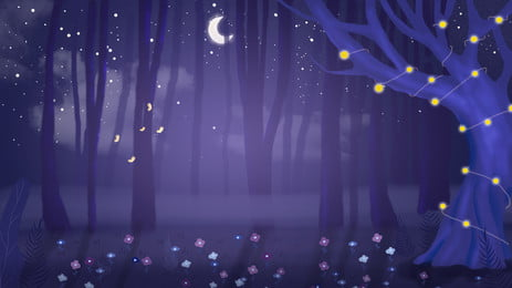 purple fantasy forest background design, Purple, Dream, Fantasy Background image