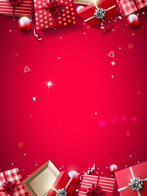 red christmas snow winter cartoon show board background , Red, Atmosphere, Festive Background image