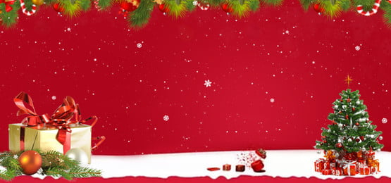 Red festive christmas eve background, Red Background, Festive, Christmas Gifts Background image