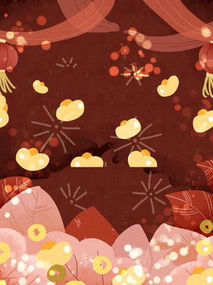 赤お祝い新年展覧会ボード背景素材 湘雲 豚年展示会 お祝い 背景画像