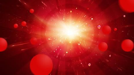 赤い花火太陽光線新年の背景素材 ブタの年 花火 お正月 背景画像