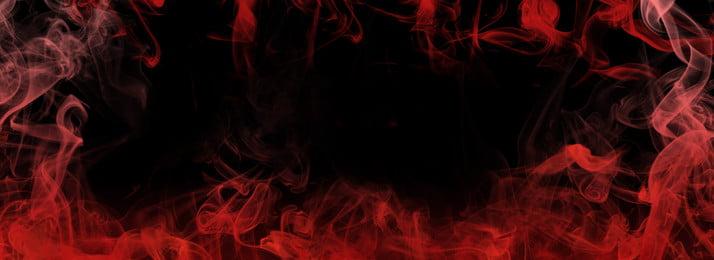 オリジナルの赤い火と煙のグラデーション背景, だんだん変わっていく, 煙, 簡素な約束 背景画像