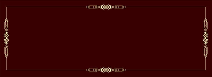 Red Gold Frame Simple Border Background, Dark Red, Gold Frame, Simple, Background image