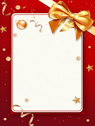 red gold thanksgiving christmas new years day background , Bow, Holiday Card, Holiday Invitation Background image