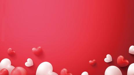 赤愛バルーン感謝祭の背景素材 ロマンチックな 愛してる 気球 背景画像