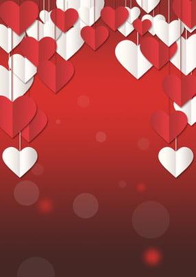 latar belakang pernikahan merah berbentuk jantung , Reka Bentuk Papan Paparan, Perkahwinan, Papan Perkahwinan imej latar belakang