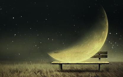quảng cáo nền bầu trời là người lãng mạn, Đêm, Quảng Cáo Nền, Bằng Tay Ảnh nền