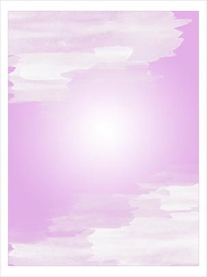 Romântico rosa pálido respingo tinta aquarela fronteira material de fundo Estilo Romântico Rosa Imagem Do Plano De Fundo