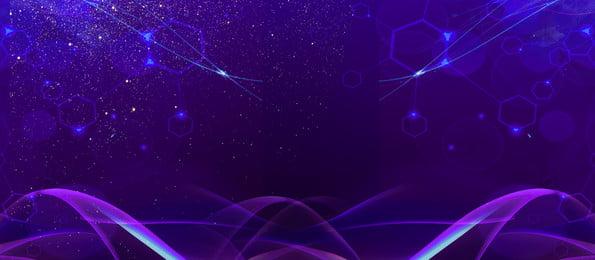 nền quảng cáo đầy sao màu tím lãng mạn, Nền Quảng Cáo, Nền Màu Tím, Điểm Sáng Ảnh nền