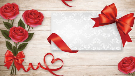 ロマンチックなバラのグリーティングカードの背景画像 バナーの背景 赤いバラ バラ グリーティングカード 休日の背景 木の板 バレンタインデーの背景 七夕の背景 ロマンチックな バナーの背景 赤いバラ バラ 背景画像