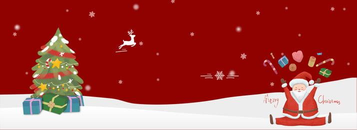 Santa claus giáng sinh red poster nền Biểu Ngữ Bối Hình Nền