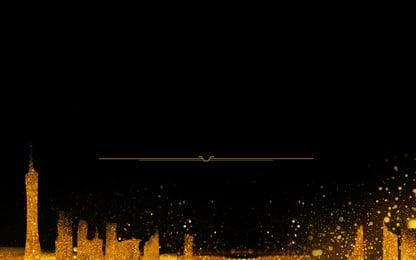 वरिष्ठ स्वर्ण भवन विज्ञापन पृष्ठभूमि, विज्ञापन की पृष्ठभूमि, काली पृष्ठभूमि, इमारत पृष्ठभूमि छवि