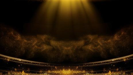 Shining nền vàng lá quảng cáo Nền quảng cáo Tia Ánh Quảng Cuồng Nâng Hình Nền