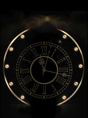 Shining nền đồng hồ báo thức vàng , Nền Quảng Cáo, Nền đen, Đồng Hồ Báo Thức hình nền
