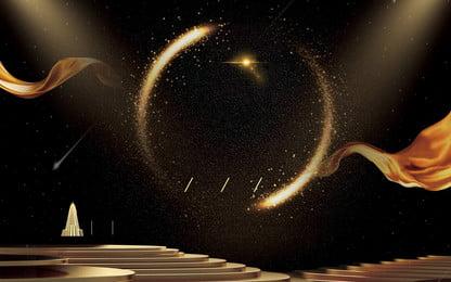 चमकदार सोने की किरण विज्ञापन पृष्ठभूमि, विज्ञापन की पृष्ठभूमि, सोने का बिंदु, चमक पृष्ठभूमि छवि