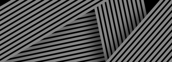 Simple Business Style Black And White Striped Border Background Material Background,black And White, Stripes, Simple Business Style Black And White Striped Border Background Material, Background, Background image