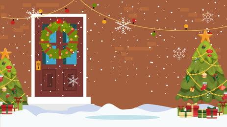 đơn giản là món quà Giáng sinh tuyết bài hát nền Cây Thông Giáng Hình Nền