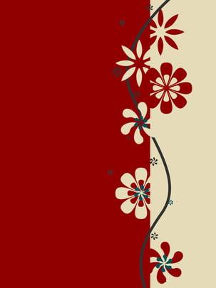 fond de papier simple style country cut , Simple, Coupe De Papier, Rouge image de fond