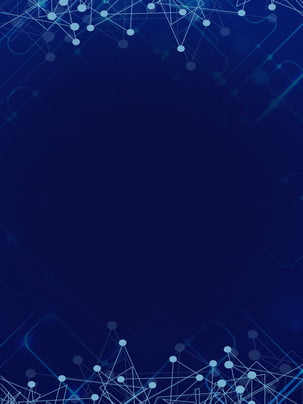 単純なデータスマート技術の背景 単純な データ 濃い青の背景 背景画像