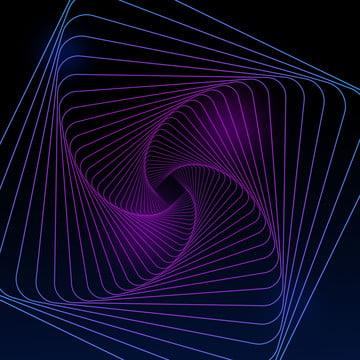 シンプルグラデーションテクノロジーラインの背景素材 , 技術ライン, グラデーション, スパイラル 背景画像