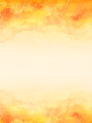 シンプルな手描きの秋の背景素材 , 単純な, あき, オレンジ色 背景画像
