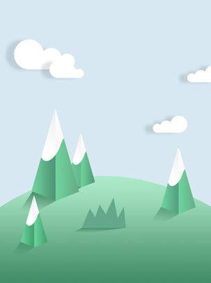 シンプルなマイクロ三次元折り紙の新鮮な背景 , 単純な, 微視的, 新鮮な 背景画像