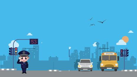 साधारण सड़क निर्माण विज्ञापन पृष्ठभूमि, विज्ञापन की पृष्ठभूमि, सड़क, नीला आकाश पृष्ठभूमि छवि