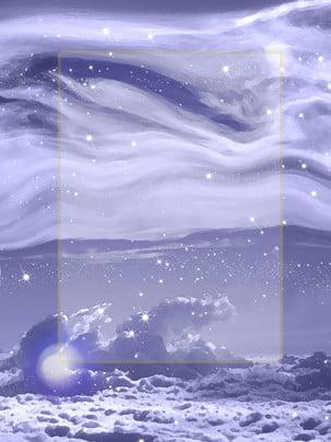 priorità bassa viola dreamy finale del cielo di struttura semplice , Semplice, Sognare, Porpora Immagine di sfondo