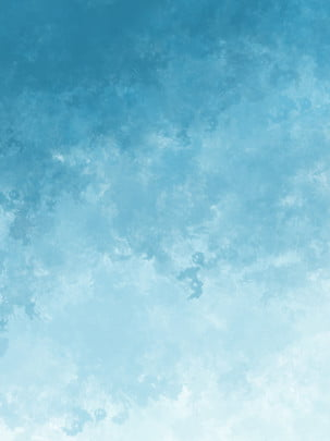 sky impression blue gradient simple watercolor background , Impression, Blue Gradient, Simple Background image