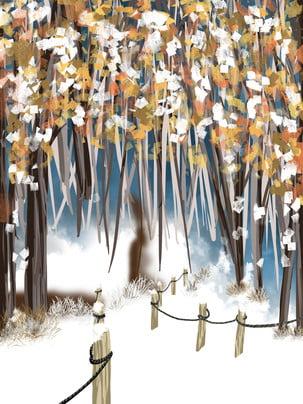 snowy forest cottage chữa bệnh nền , Thiết Kế Nền, Mùa đông, Bối Cảnh Ảnh nền