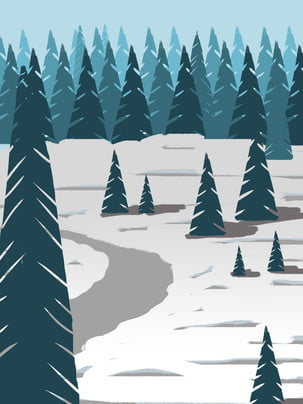 snowy holiday pine tree landscape background , Forest, Heavy Snow, Snowy Background Background image