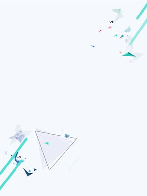 solid color minimalistic geometric background material , Solid Color, Triangle, Simple Background image