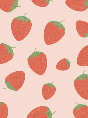 Strawberry pink background , Pink, Strawberry, Simple Background image