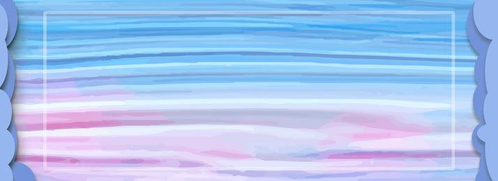 時尚大氣紋理拉絲水彩背景, 時尚, 紋理拉絲, 藍色漸變 背景圖片