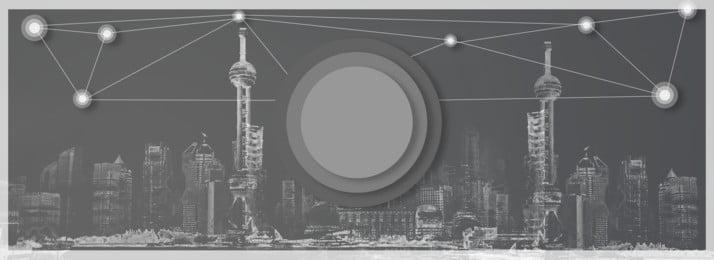 Tech City Cool Gray Sở Banner Công nghệ Thành phố Tuyệt Xám Tin Học Nghệ Thành Hình Nền