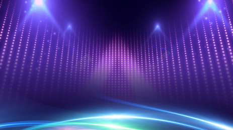 tech purple light new year party background material, Annual Meeting, Annual Summary Meeting, Annual Meeting Background Background image
