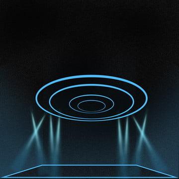 प्रौद्योगिकी बीम 2 5d विदेशी ब्लू ग्रेडिएंट पारदर्शी पोस्टर , प्रौद्योगिकी किरण, विदेशी भाव, नीला प्रकाश किरण पृष्ठभूमि छवि