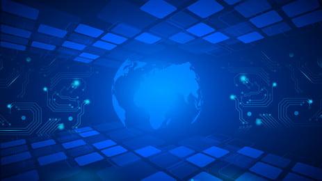 Công nghệ cảm nhận vật liệu nền trái đất màu xanh Thiết Kế Nền Hình Nền