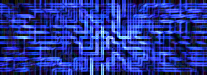 प्रौद्योगिकी की भावना नीले आधुनिक रचनात्मक बैनर पृष्ठभूमि तकनीकी ज्ञान नीला पृष्ठभूमि छवि